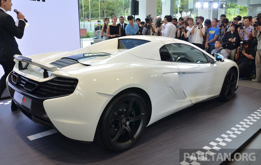 McLaren 650S launched in Malaysia, from RM2.4 mil Image #252738