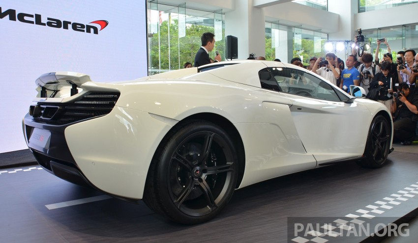 McLaren 650S launched in Malaysia, from RM2.4 mil Image #252739