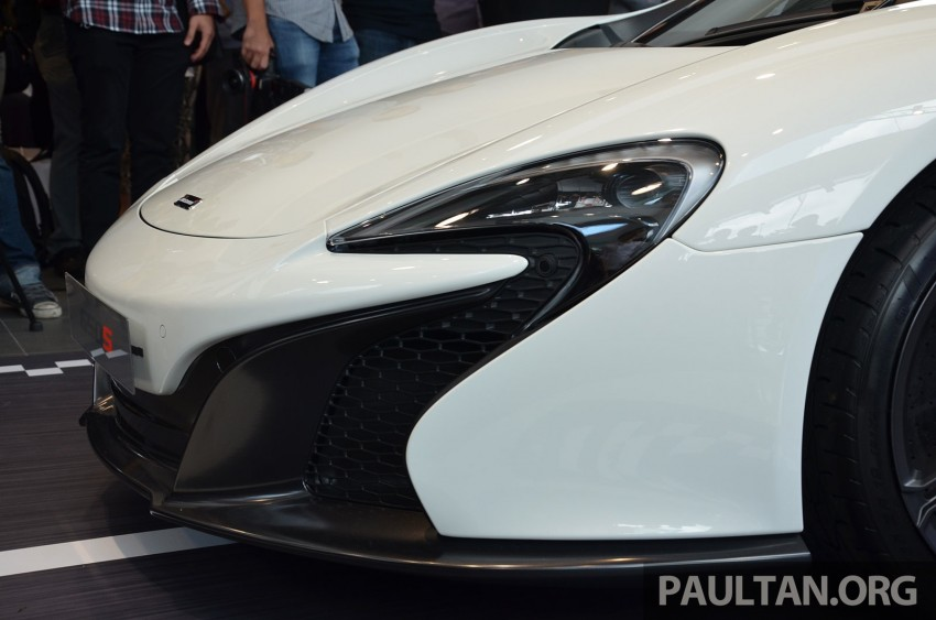McLaren 650S launched in Malaysia, from RM2.4 mil Image #252740