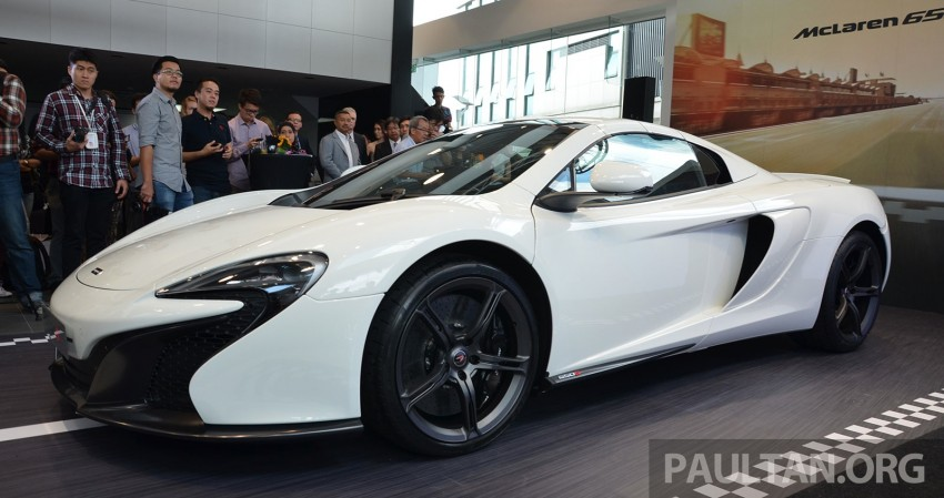 McLaren 650S launched in Malaysia, from RM2.4 mil Image #252741
