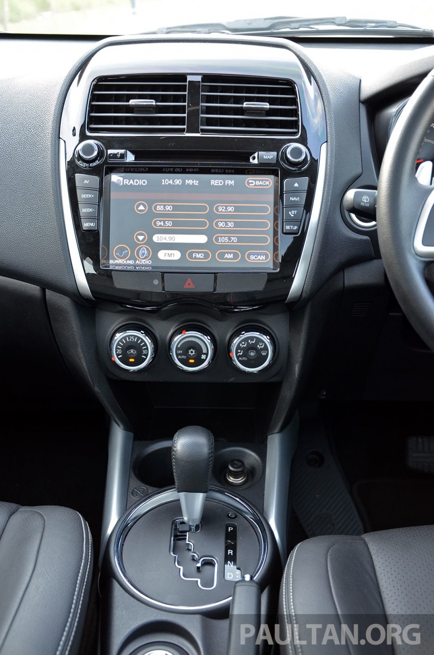 DRIVEN: Mitsubishi ASX – now CKD and great value Image #254148