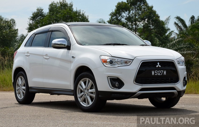 DRIVEN: Mitsubishi ASX – now CKD and great value Image #254161