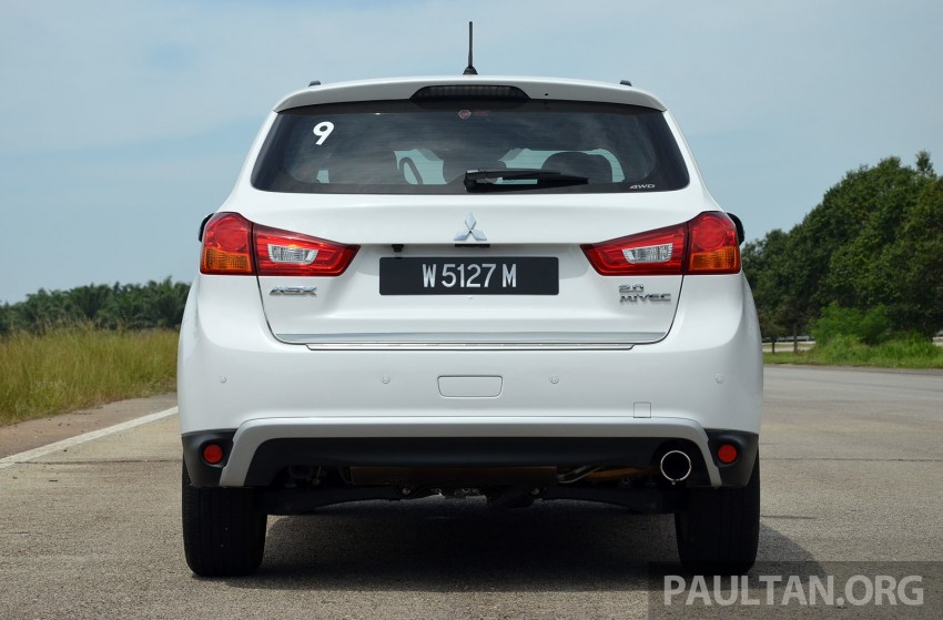 DRIVEN: Mitsubishi ASX – now CKD and great value Image #254162