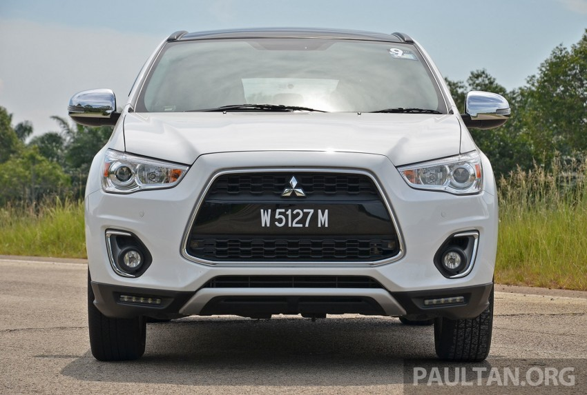DRIVEN: Mitsubishi ASX – now CKD and great value Image #254168