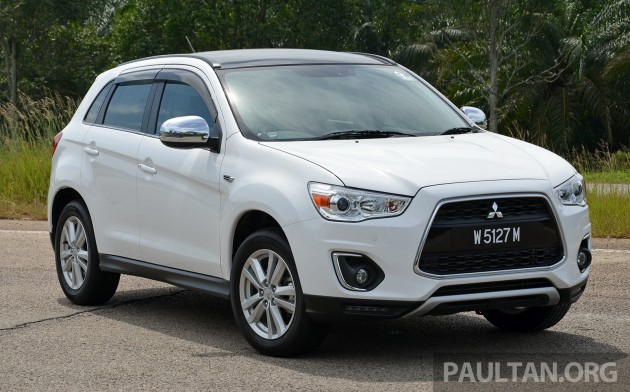 Mitsubishi ASX adds 5 years free service, first 1k units
