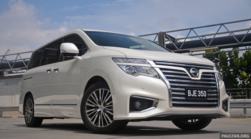 DRIVEN: 2014 Nissan Elgrand tested from every seat Image #255578
