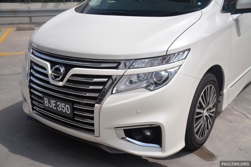 DRIVEN: 2014 Nissan Elgrand tested from every seat Image #255569