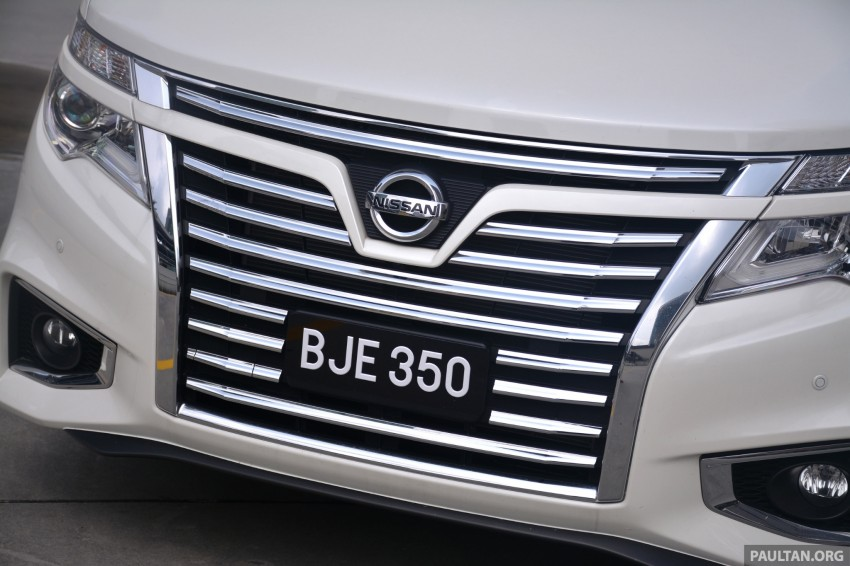 DRIVEN: 2014 Nissan Elgrand tested from every seat Image #255567