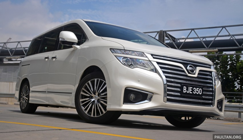 DRIVEN: 2014 Nissan Elgrand tested from every seat Image #255575