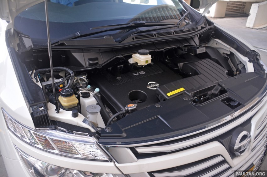 DRIVEN: 2014 Nissan Elgrand tested from every seat Image #255551