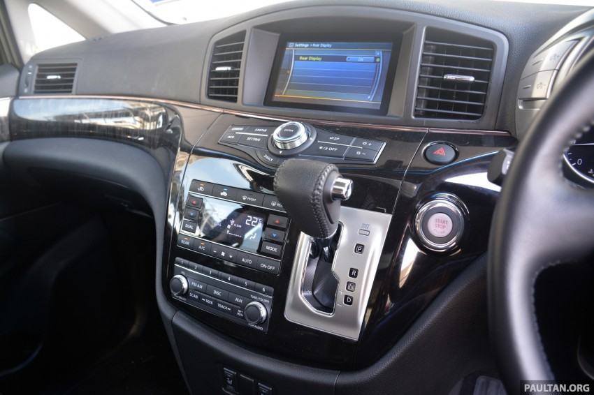 DRIVEN: 2014 Nissan Elgrand tested from every seat Image #255543