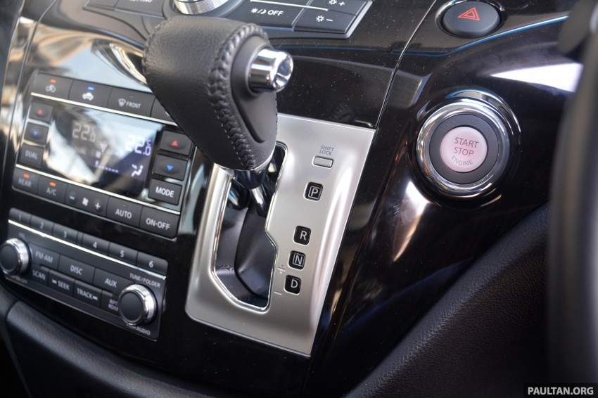 DRIVEN: 2014 Nissan Elgrand tested from every seat Image #255539