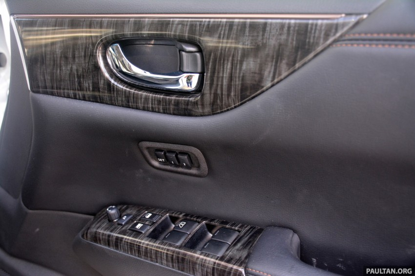 DRIVEN: 2014 Nissan Elgrand tested from every seat Image #255531