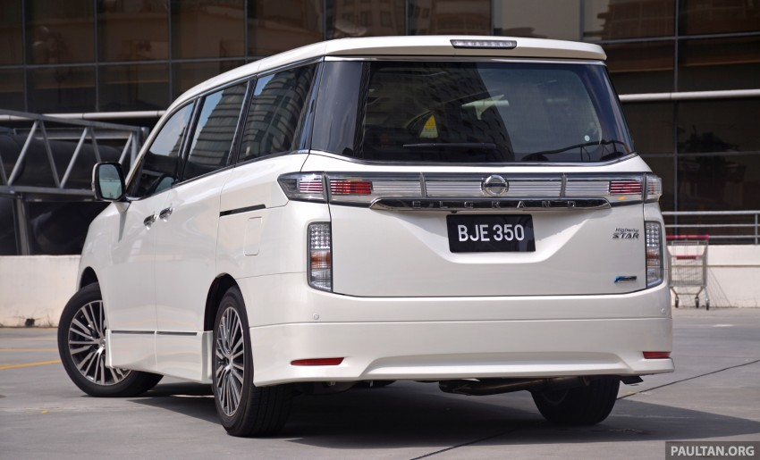DRIVEN: 2014 Nissan Elgrand tested from every seat Image #255572