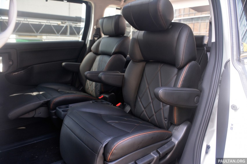 DRIVEN: 2014 Nissan Elgrand tested from every seat Image #255508