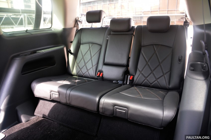 DRIVEN: 2014 Nissan Elgrand tested from every seat Image #255504