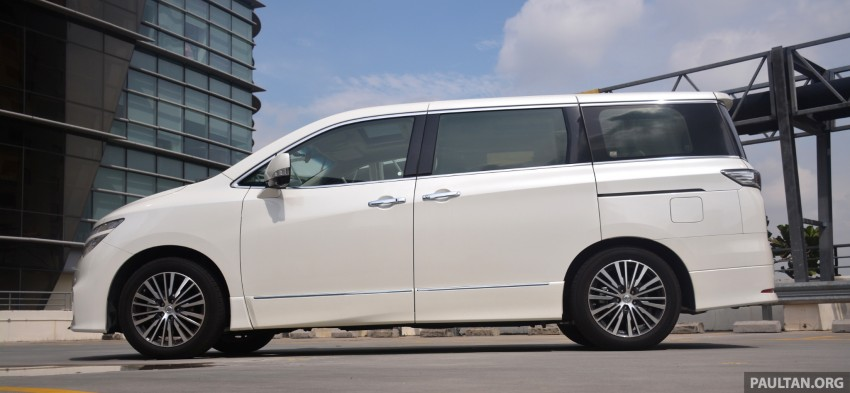 DRIVEN: 2014 Nissan Elgrand tested from every seat Image #255568