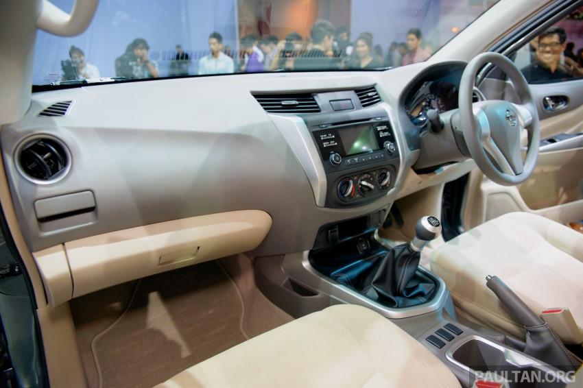 Nissan NP300 Navara unveiled in Thailand: 7spd auto! Image #253237