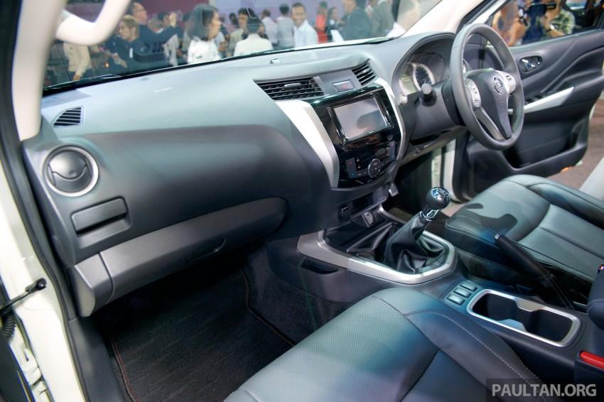 Nissan NP300 Navara unveiled in Thailand: 7spd auto! Image #253241