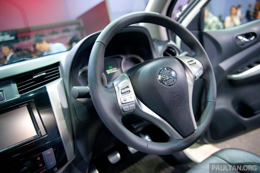 Nissan NP300 Navara unveiled in Thailand: 7spd auto! Image #253243