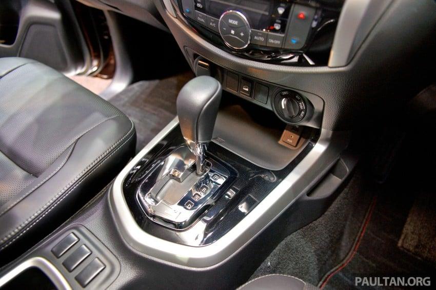 Nissan NP300 Navara unveiled in Thailand: 7spd auto! Image #253248