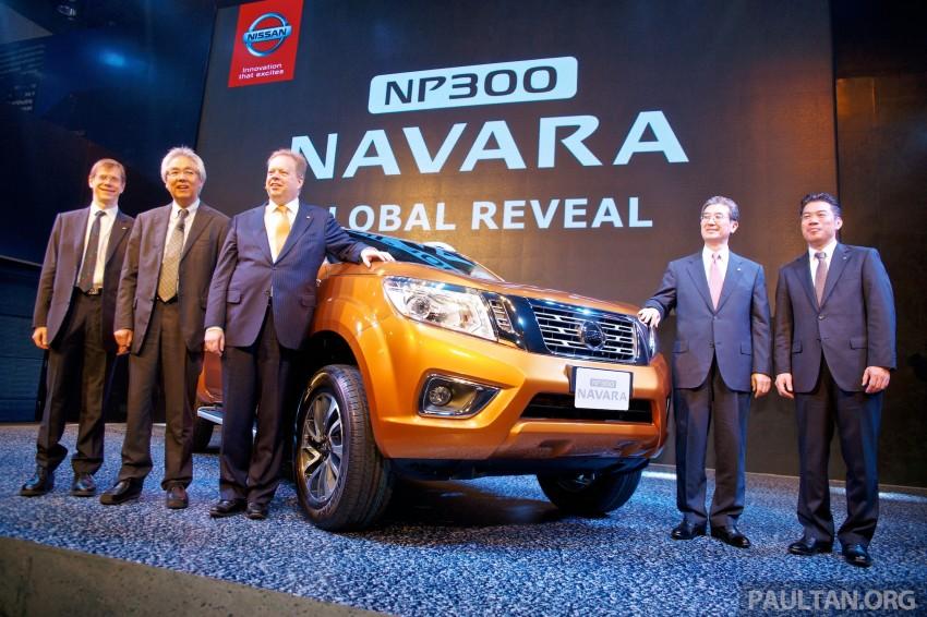 Nissan NP300 Navara unveiled in Thailand: 7spd auto! Image #253230