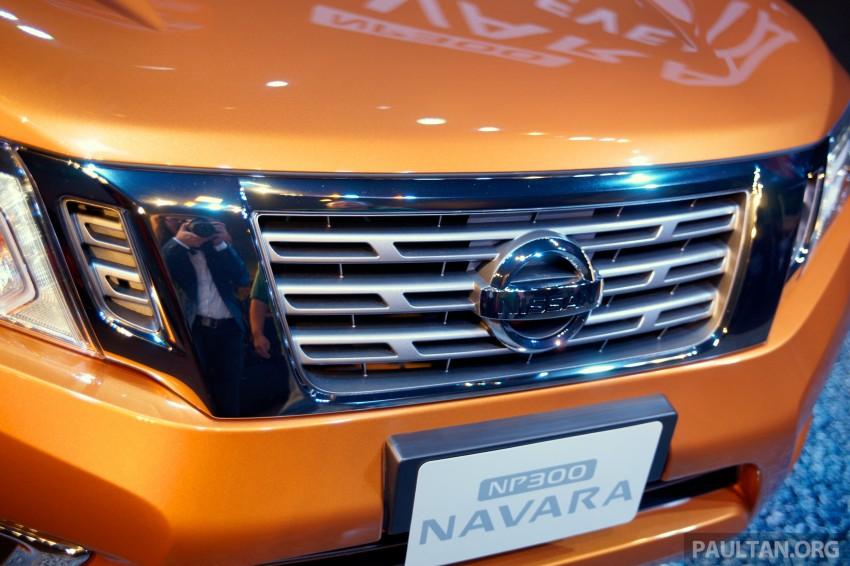 Nissan NP300 Navara unveiled in Thailand: 7spd auto! Image #253263