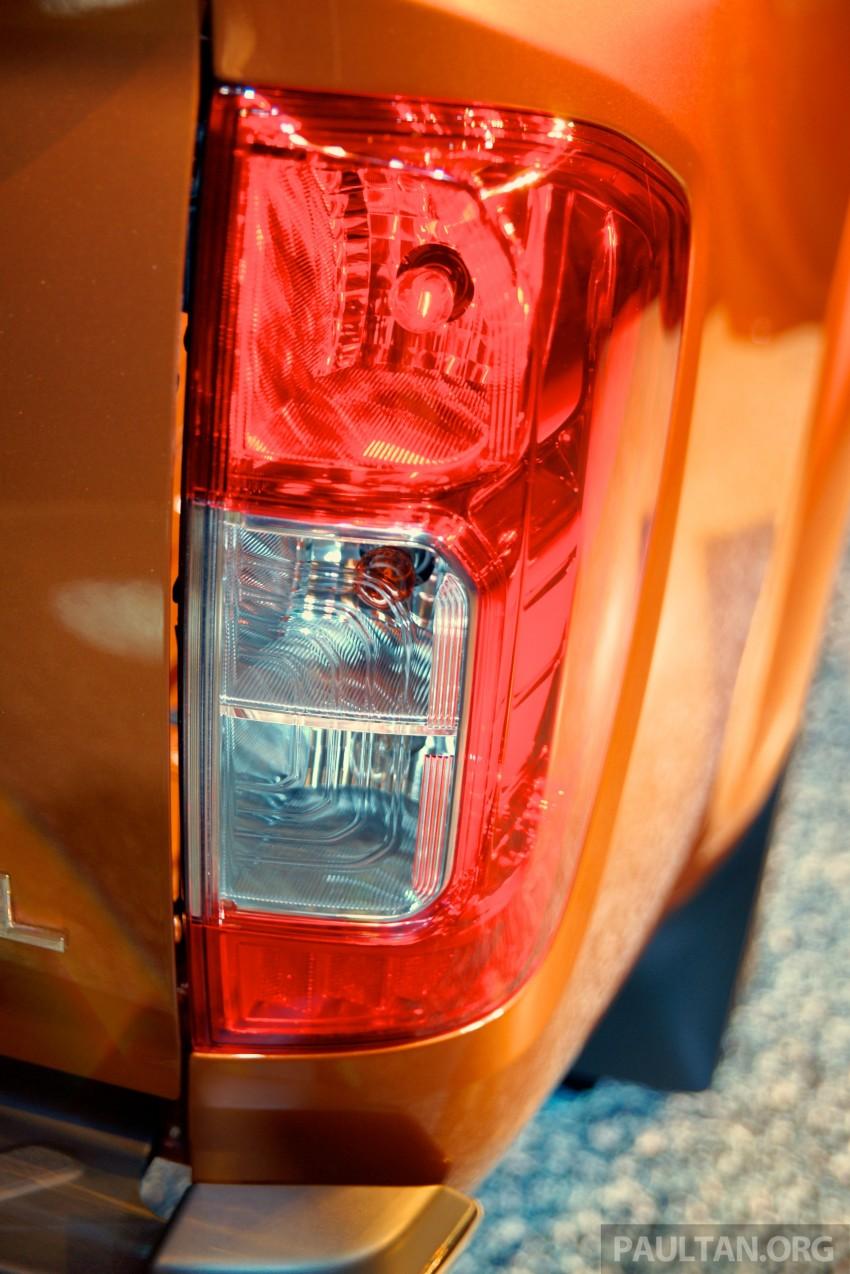 Nissan NP300 Navara unveiled in Thailand: 7spd auto! Image #253265