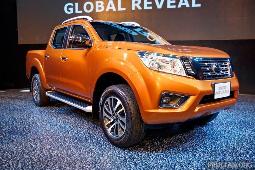 Nissan NP300 Navara unveiled in Thailand: 7spd auto! Image #253231