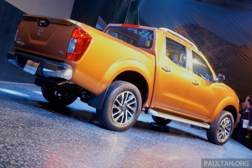 Nissan NP300 Navara unveiled in Thailand: 7spd auto! Image #253268