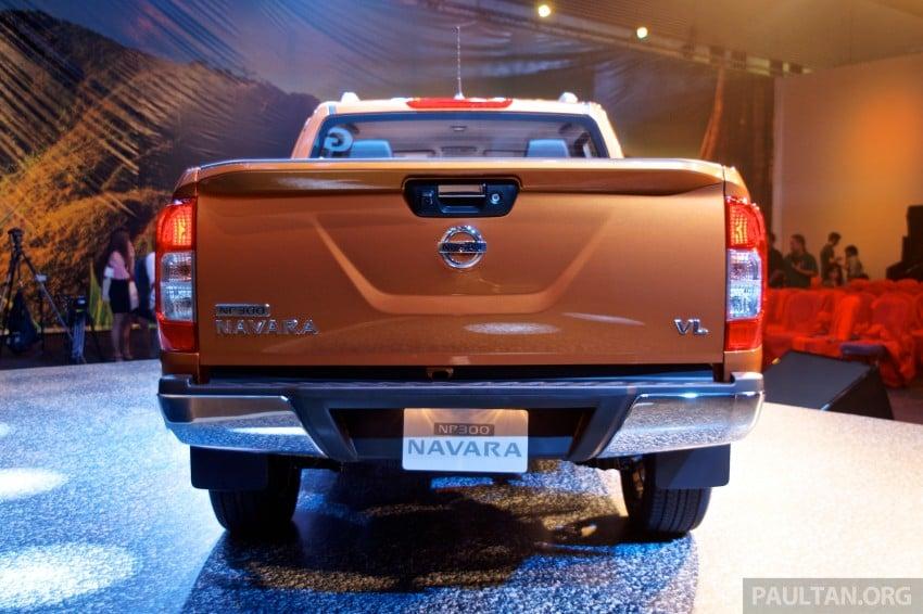 Nissan NP300 Navara unveiled in Thailand: 7spd auto! Image #253269