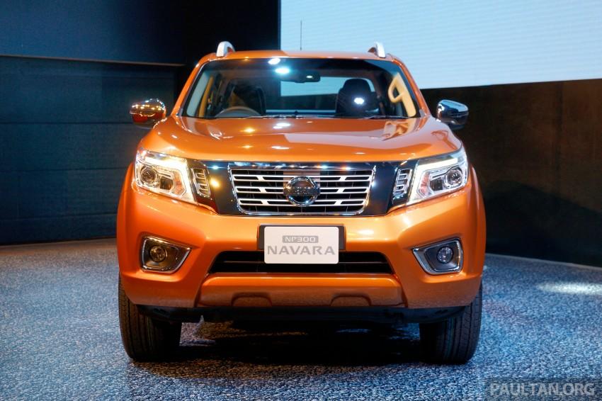 Nissan NP300 Navara unveiled in Thailand: 7spd auto! Image #253270