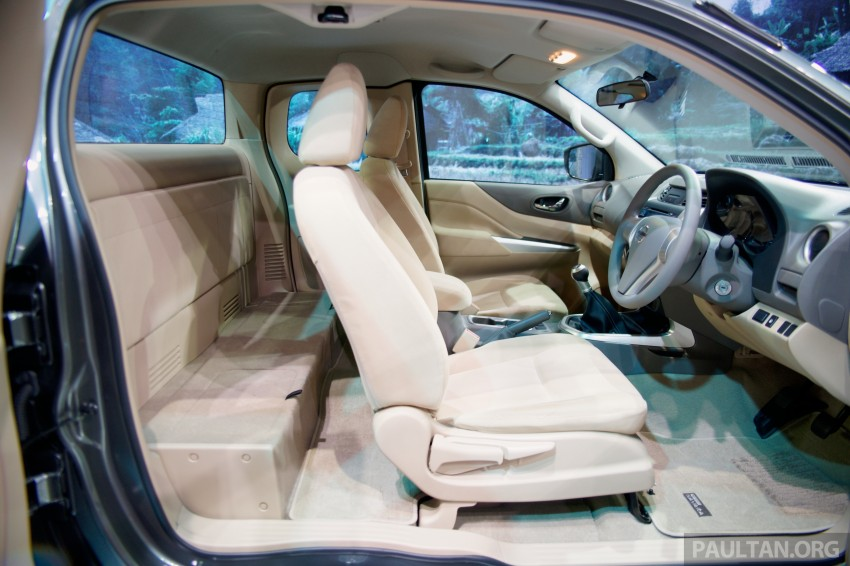 Nissan NP300 Navara unveiled in Thailand: 7spd auto! Image #253272