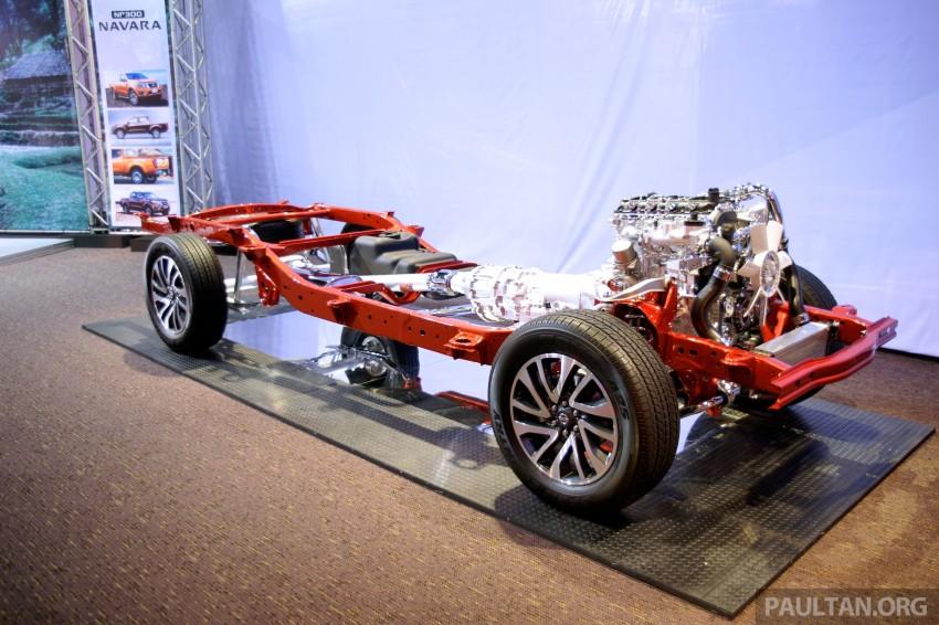 Nissan NP300 Navara unveiled in Thailand: 7spd auto! Image #253275