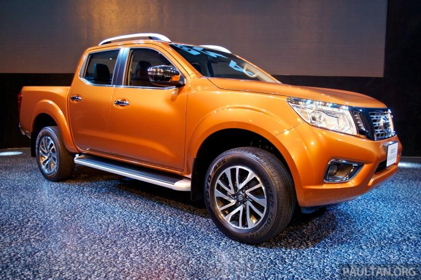 Nissan NP300 Navara unveiled in Thailand: 7spd auto! Image #253232