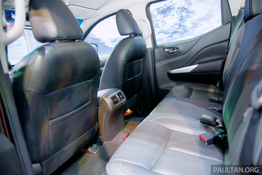 Nissan NP300 Navara unveiled in Thailand: 7spd auto! Image #253277
