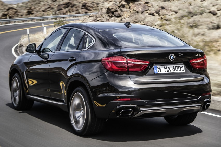 BMW X6 – second-gen F16 makes its official debut Image #252225