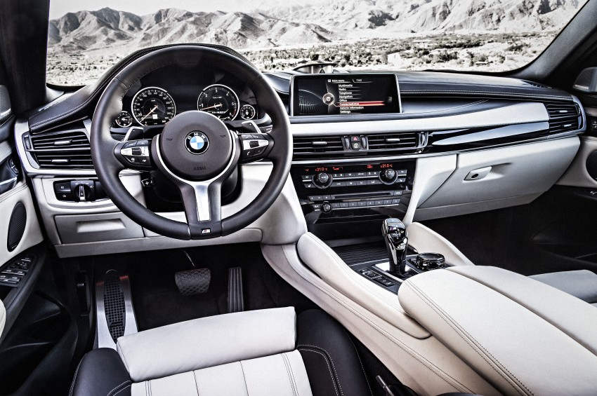 BMW X6 – second-gen F16 makes its official debut Image #252290