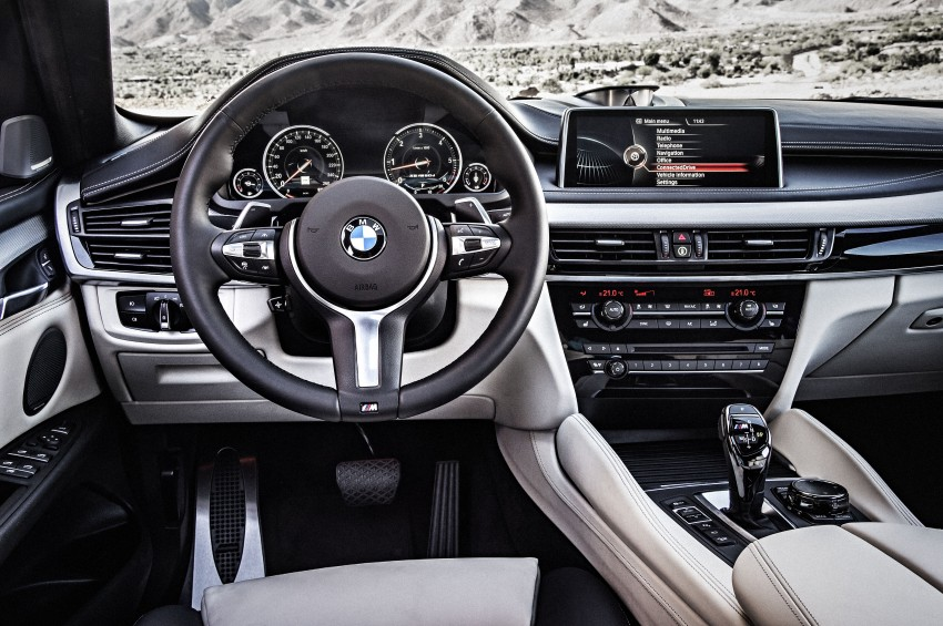 BMW X6 – second-gen F16 makes its official debut Image #252291