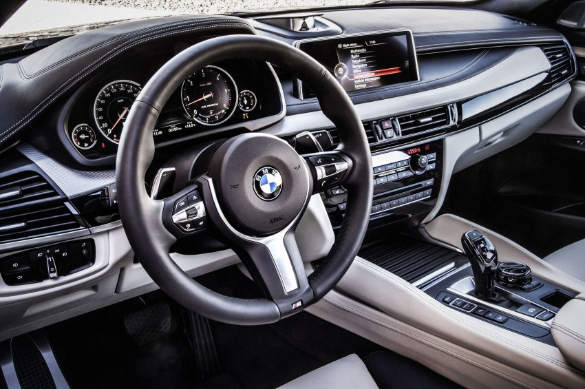 BMW X6 – second-gen F16 makes its official debut Image #252292