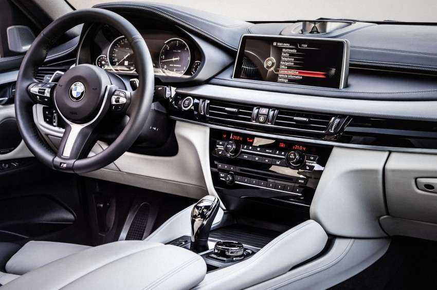 BMW X6 – second-gen F16 makes its official debut Image #252293