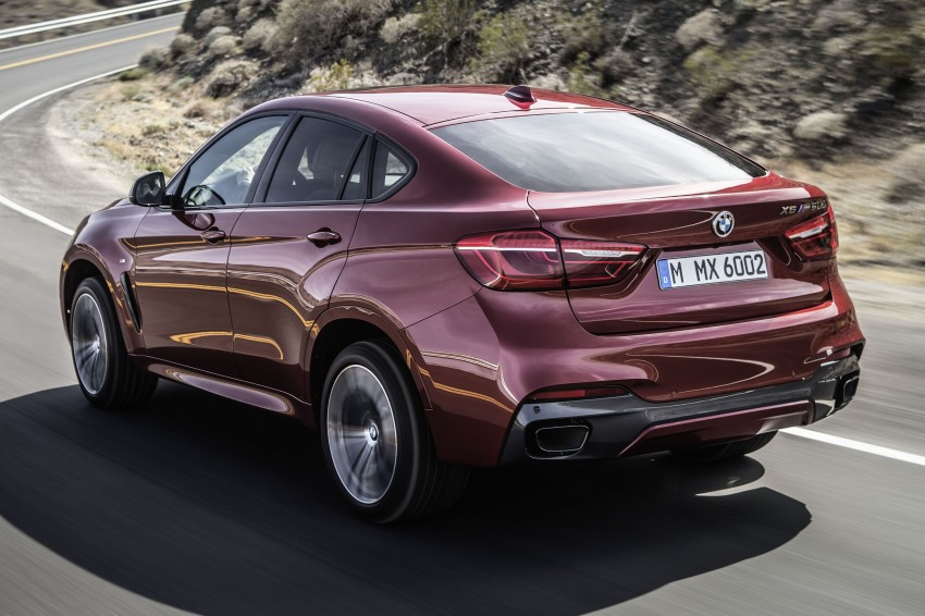 BMW X6 – second-gen F16 makes its official debut Image #252268
