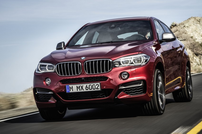 BMW X6 – second-gen F16 makes its official debut Image #252269