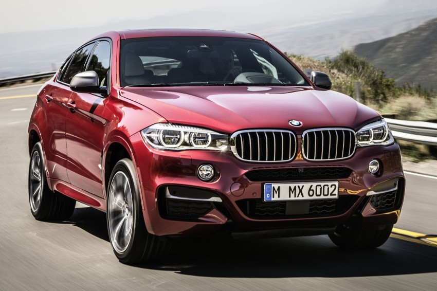 BMW X6 – second-gen F16 makes its official debut Image #252271