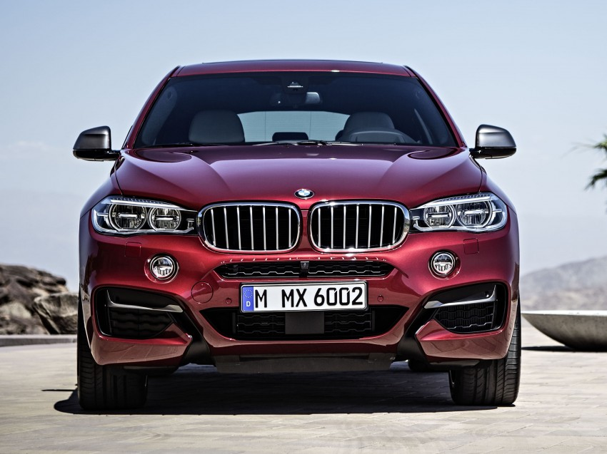 BMW X6 – second-gen F16 makes its official debut Image #252273