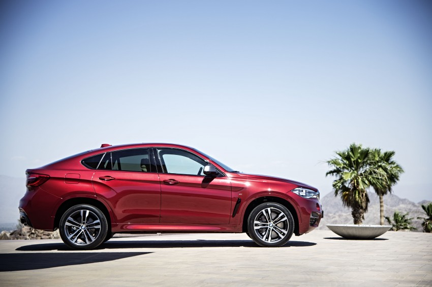 BMW X6 – second-gen F16 makes its official debut Image #252274