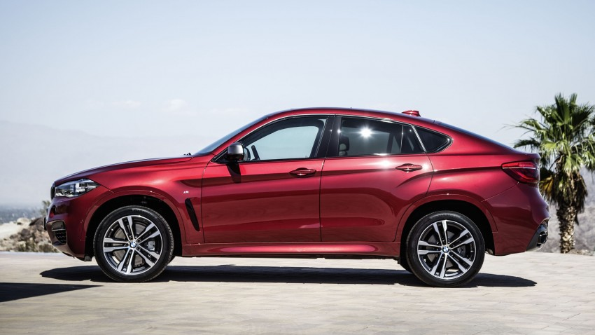 BMW X6 – second-gen F16 makes its official debut Image #252275