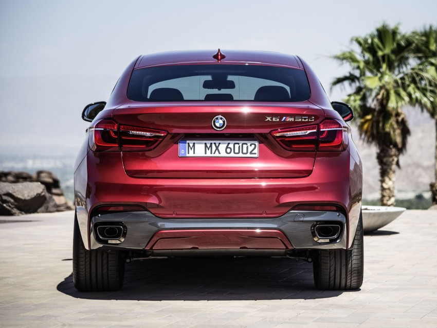 BMW X6 – second-gen F16 makes its official debut Image #252276