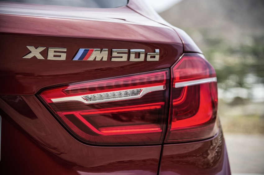 BMW X6 – second-gen F16 makes its official debut Image #252277