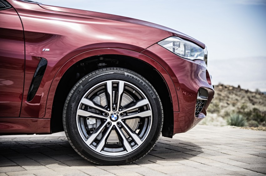BMW X6 – second-gen F16 makes its official debut Image #252278